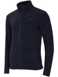 Men's fleece PLM300 - dark blue melange