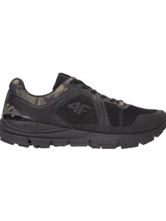 Men's running shoes OBMS101 - black