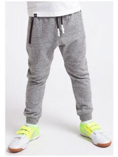 Sweatpants for small boys  JSPMD100 - middle gray melange