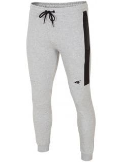 Men's sweatpants SPMD224 - gray melange