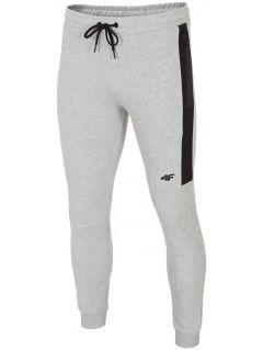 Men's sweatpants SPMD224 - gray melange