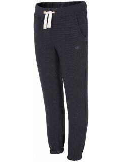 Sweatpants for small girls JSPDD100 - navy