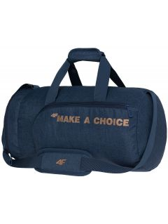 Training duffel bag TPU006 - dark navy melange