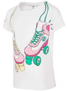 T-shirt for small girls JTSD104 - white