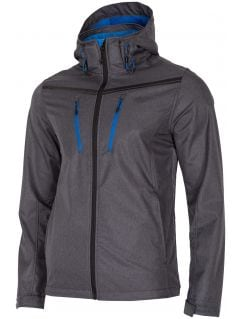 Men's softshell SFM204 - dark grey melange