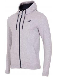 Men's hoodie BLM003 - light gray