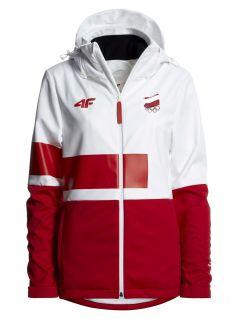 Women's softshell Poland Pyeongchang 2018 SFD900R - white