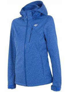Women's softshell jacket SFD002 - blue melange