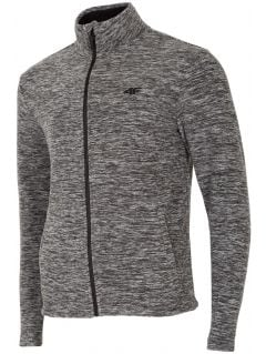 Men's fleece PLM001 - dark grey melange