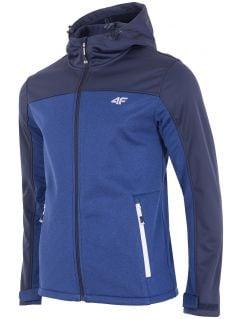 Men's softshell jacket SFM002 - denim melange