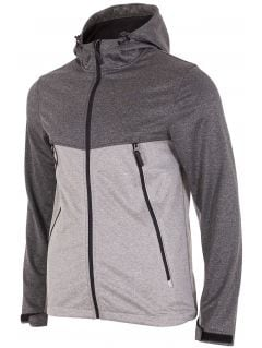 Men's softshell jacket SFM004 - gray melange