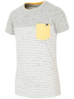 T-shirt for small boys jtsm107 - dark gray