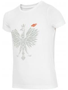 Sports fan T-shirt for small boys jtsm302 - white