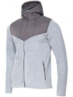 Men's fleece PLM002 - light grey