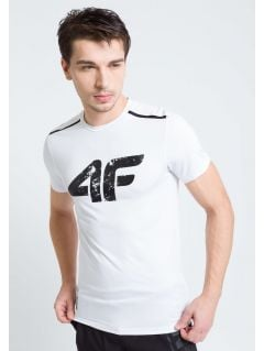Men's active T-shirt TSMF208A - white