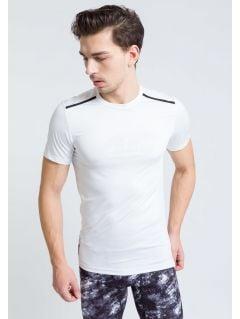 Men's active T-shirt TSMF208 - white