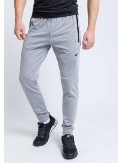 Men's active pants SPMTR205 - light gray