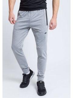 Men's active pants SPMTR205 - light gray