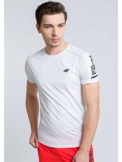 Men's active T-shirt TSMF215 - white