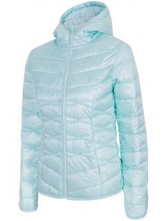 Women's down jacket kudp210 -  mint