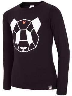 Longsleeve for small girls JTSDL102a - black