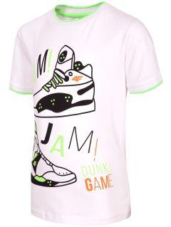 T-shirt for small boys JTSM116 - white