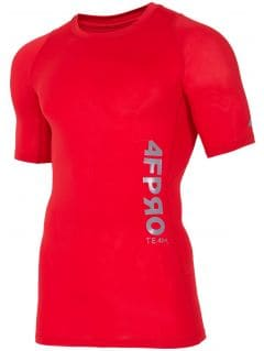 Baselayer T-shirt 4FPRO TSMF401 - red allover