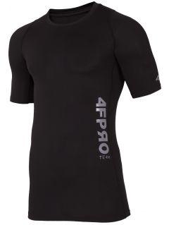 Baselayer T-shirt 4FPRO TSMF401 - black allover