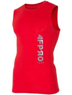 Baselayer tank top 4FPRO TSMF402 - red allover