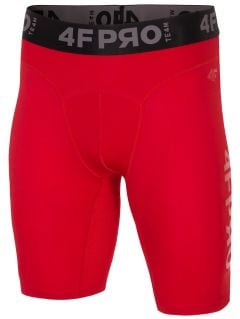 Men's baselayer shorts 4FPRO SPMF404 - red