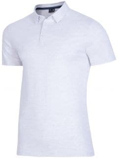 Men's polo shirt tsm015 - light gray