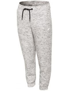 Active pants for small girls JSPDTR301 - light grey