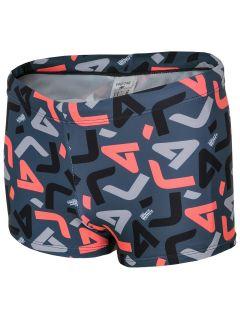 Swim trunks for small boys JMAJM101 - dark gray