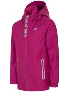 Urban jacket for small girls jkud304 - pink melange