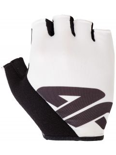 Unisex cycling gloves RRU200 - white
