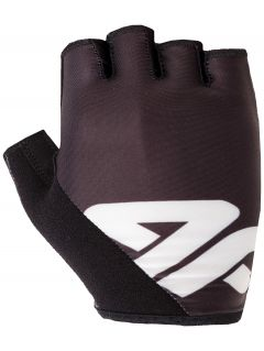 Unisex cycling gloves RRU200 - black