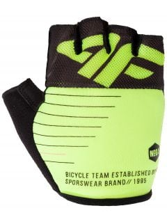Unisex cycling gloves  RRU205 - lime neon