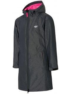 Jacket 3in1 for small girls JKUD106 - dark gray melange