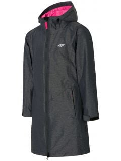 Jacket 3in1 for big girls jkud206 - dark gray melange