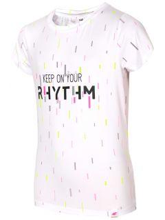 Active T-shirt for big girls JTSD403 - white