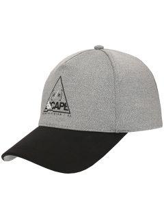 Men's cap CAM201 - light grey
