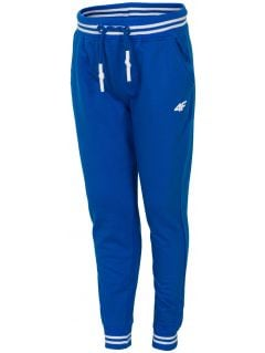 Sweatpants for small boys JSPMD113 - blue