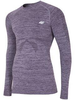 Seamless underwear (top) BIMB200G - gray melange