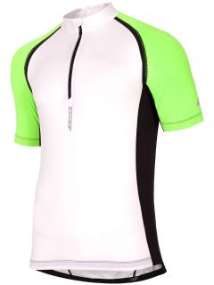 Men's cycling jersey RKM002 - white