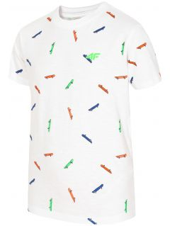 T-shirt for small boys jtsm121 - white