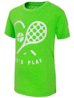 T-shirt for small boys JTSM120 - neon green