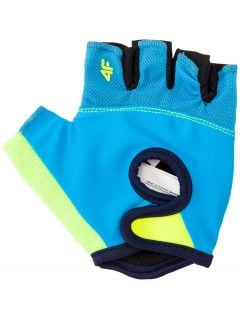 Cycling gloves for big boys JRRM204 - blue