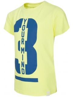 T-shirt for small boys JTSM130A - lime green