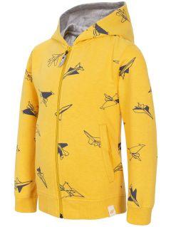 Sweatshirt for small boys  JBLM101 - yellow