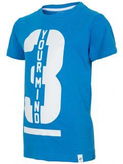 T-shirt for small boys JTSM130 - denim